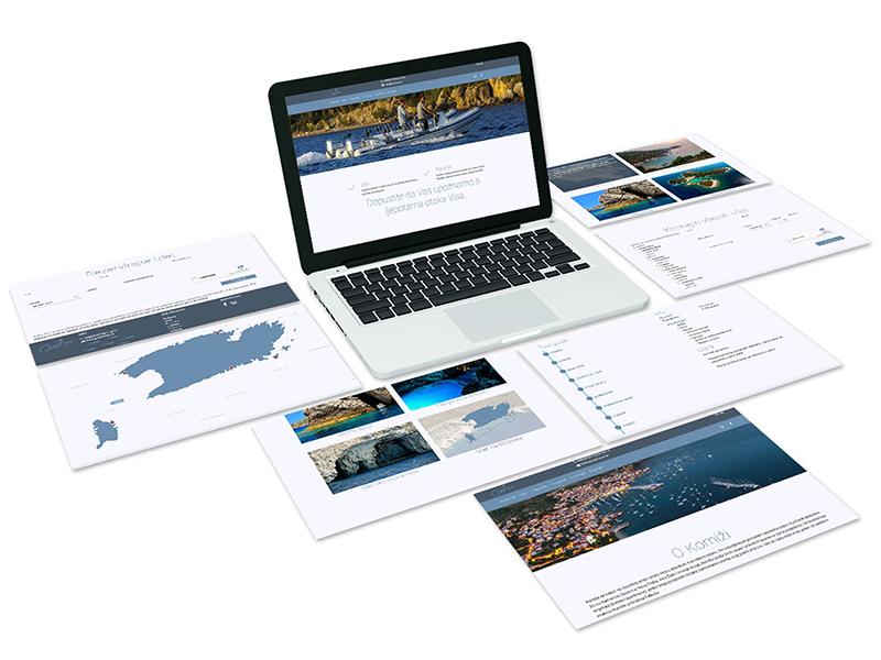 Napravili smo web stranicu, dizajnirali posjetnice, letke i plakat