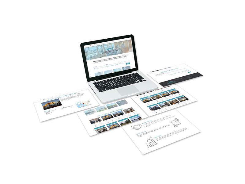Izrada web stranice i vizualnog identiteta za agenciju nekretninama
